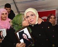 Annelerin eylemi terörün kalbine ok gibi saplandı