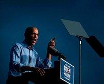 Obama Biden için sahaya indi
