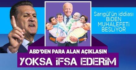 Mustafa Sarıgül'den 'ABD muhalefet partilerine para gönderiyor' iddiası: Açıklamazlarsa ifşa ederiz