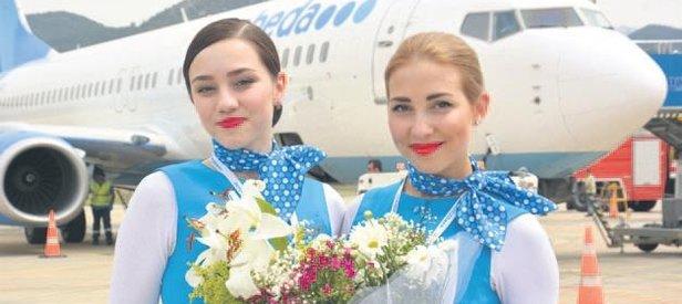 Alanya'ya uçuyoRUS