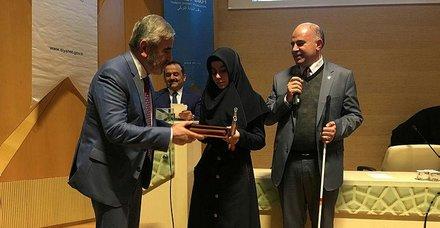 Görme engelliler için dijital Kur'an-ı Kerim tanıtım ve dağıtım töreni yapıldı
