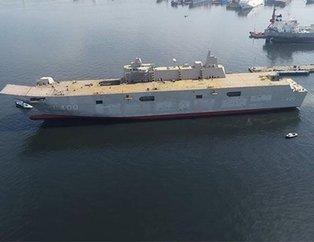 TCG Anadolu 2020'de denize iniyor! Türkiye'nin en büyük savaş gemisinin el kulağında