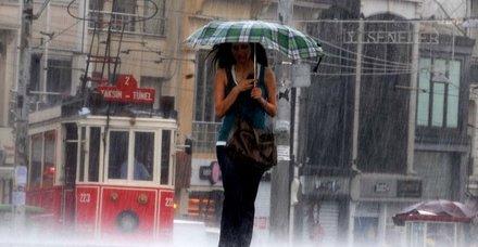 Meteoroloji yarın için İstanbulluları uyardı: Dolu ve hortuma dikkat