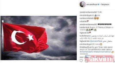 Ünlü isimlerin '15 Temmuz' paylaşımları