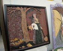 Hobi olarak başladığı mozaik sanatında, dünyaya açıldı!
