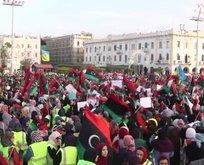 Libyalılardan Rus milislere büyük tepki!
