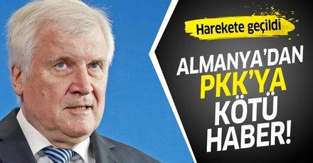 Almanya'dan PKK'ya kötü haber! Almanya'yı eylem yeri olarak kullanmayın