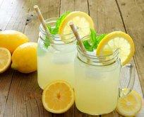 Limonata böbrek taşını önler