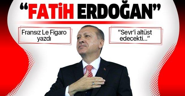 Başkan Erdoğan'ı Fatih Sultan Mehmet'e benzettiler!