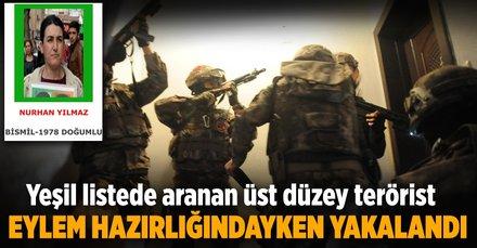 İzmirli Ayşe kod adlı terörist Nurhan Yılmaz yakalandı!
