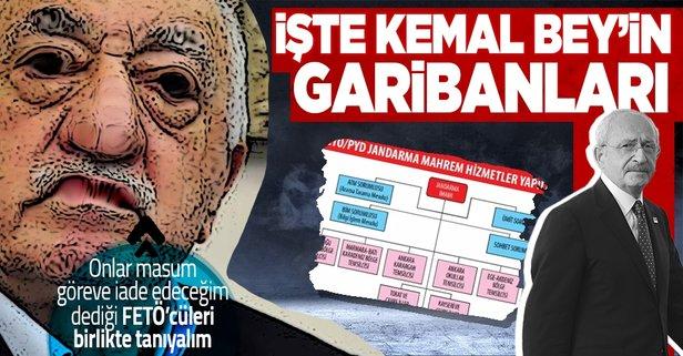 Kılıçdaroğlu'nun koruduğu KHK'lı FETÖ'cüler