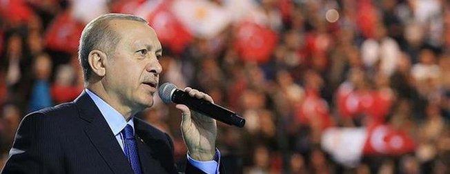 Cumhurbaşkanı Erdoğandan Ahd-i Milli