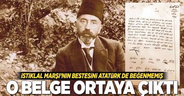 Atatürk De O Besteyi Değiştirmek Istemiş Takvim 25 Mart 2018