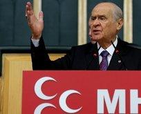 MHP Genel Başkanı Bahçeli'den CHP'ye tepki