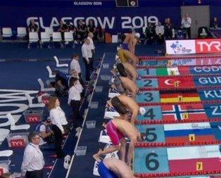 Milli yüzücü Avrupa'da göğsümüzü kabarttı!