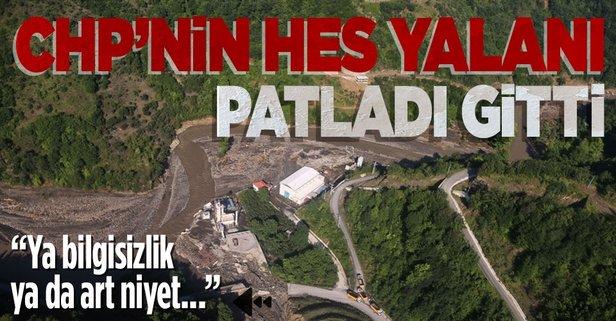 CHP'nin HES yalanı patladı gitti