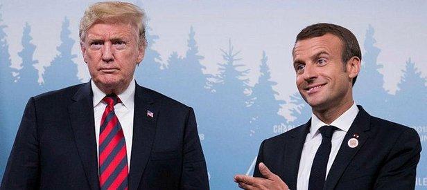 ABD ile Fransa arasında İran krizi patlak verdi!