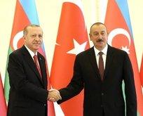Başkan Erdoğan'dan Aliyev'e tebrik mesajı