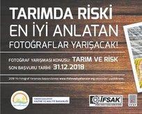 Fotoğraflarla tarım ve risk