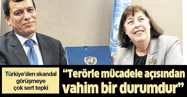 Dışişlerinden BM'ye Ferhat Abdi Şahin tepkisi