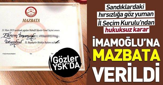İstanbul İl Seçim Kurulu'ndan hukuksuz karar!