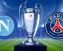 Napoli PSG arasında 2. kez kozlar paylaşılıyor...