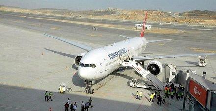 İstanbul Havalimanından ilk tarifeli yurt dışı sefer Kıbrısa