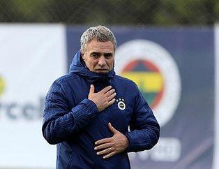 Ersun Yanal Bursaspor maçı 11'ini belirledi! İşte Fenerbahçe'nin Bursaspor 11'i