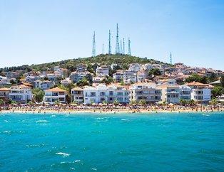 İstanbullular'ın gözbebeği Sedef Adası! İstanbul Adaları'nda gidebileceğiniz birbirinden güzel plajlar...