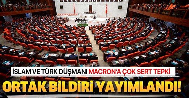 AK Parti, MHP, CHP ve İYİ Parti'den ortak bildiri