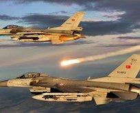Kuzey Iraka hava harekatı! 6 terörist öldürüldü