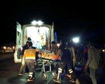 Midyat'ta trafik kazası: 1 ölü 6 yaralı