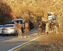 Askeri araç devrildi: Yaralılar var!