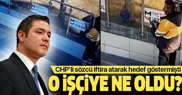 CHP'li sözcü iftira atıp hedef göstermişti! O işçiye ne oldu?