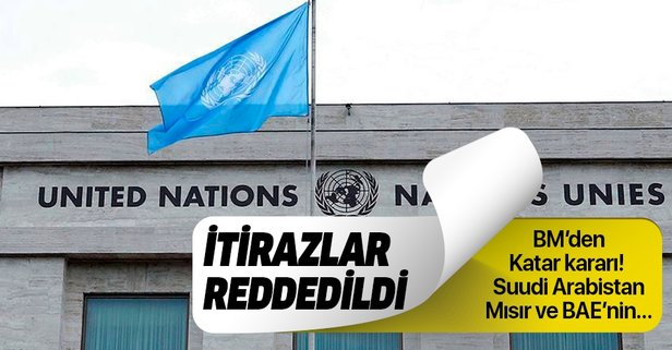 BM'den flaş katar kararı!