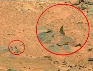 Mars'tan gelen görüntüler şaşkına çevirdi! Dikkatlice bakın...