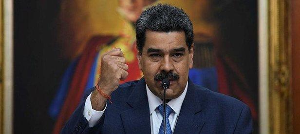 Maduro'dan ABD ve Kolombiya'ya sert tepki: Bize bir şey yapamazlar!