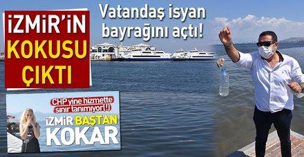 İzmir'in kokusu çıktı