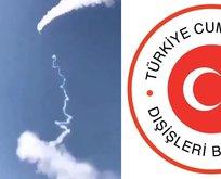 Riyad'a füze saldırısı! Türkiye'den flaş sözler