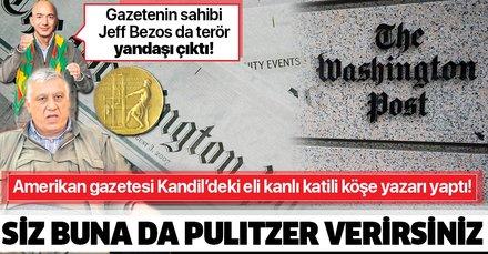 Washington Post terör örgütü PKK'nın elebaşı Cemil Bayık'ın skandal sözlerini 'makale' diye yayınladı