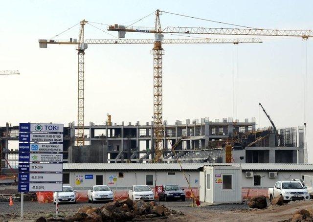 Diyarbakır Stadının yapımı tamamlandı