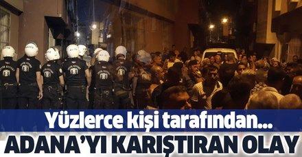 Adana'da 11 yaşındaki çocuğa taciz iddiası ortalığı karıştırdı! Yüzlerce kişi tarafından evi yıkılmak istendi!