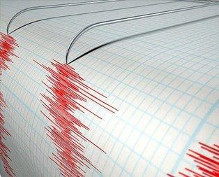 Ordu'da korkutan deprem