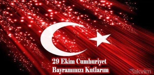 Resimli 29 Ekim Cumhuriyet Bayramı Mesajları Cumhuriyet Bayramının
