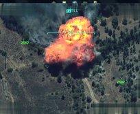 TSK Kuzey Iraka düzenlenen operasyonun görüntülerini yayınladı