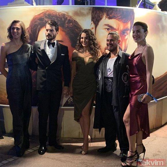 Ebru Şahin Cannes pozlarıyla sosyal medyayı yıktı geçti! Cannes'da Hercai rüzgarı