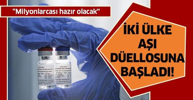 ABD ile Rusya arasında koronavirüs aşısı düellosu başladı!