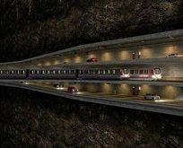 İstanbulun iki yakasını birleştirecek üç katlı tünel geliyor! İşte güzergahı