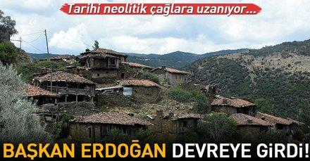 Kültür ve Turizm Bakanı Mehmet Nuri Ersoy Erdoğanın talimatıyla Lübbey Köyünde