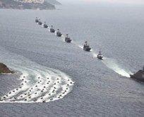 TSKdan Akdenizde gövde gösterisi